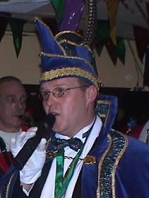 2001 - 2002 Hans van der Vorst Prins Hans I